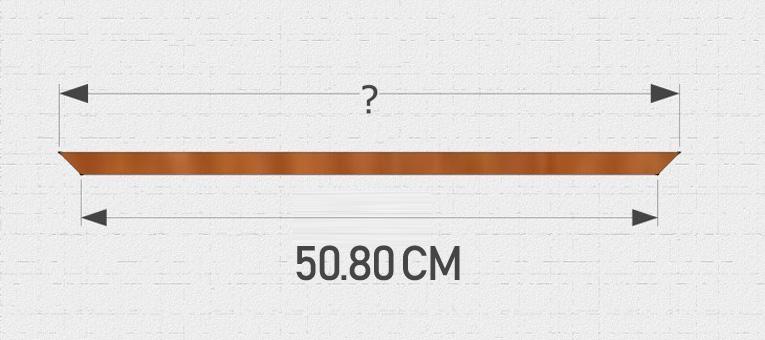 całkowita długość boku legowiska