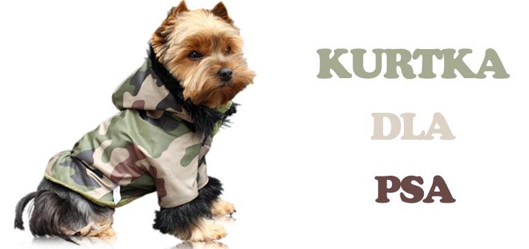 kurtka dla psa