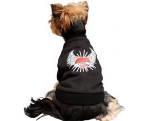 ubranie dla psa serce