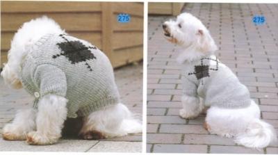 ubranko dla psa wykrój