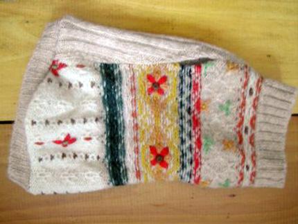 gotowy sweterek dla psa