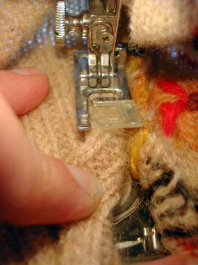 szycie sweterka dla psa